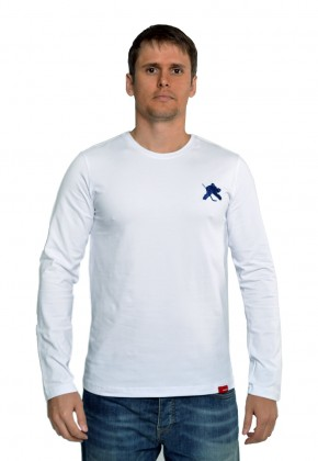 Лонгслив MarkWear Classic Goalie White