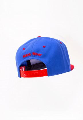 Снепбэк Goalie BLUE&RED