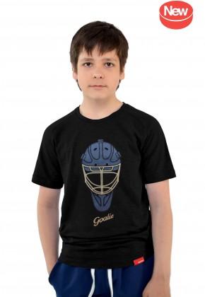 Футболка MarkWear Goalie Mask GOLD