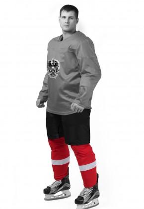 Хоккейные гамаши анатомические (сшивные)