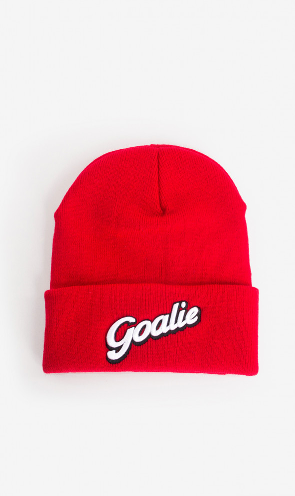 Шапка Goalie Red