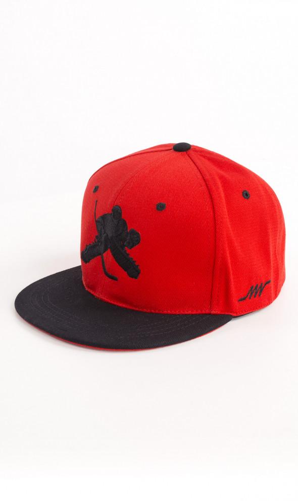 Снепбэк Goalie RED&BLACK