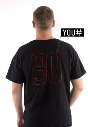 Футболка Mark Wear Pulse Black Number