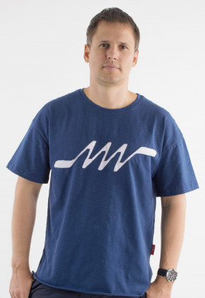 Футболка Mark Wear Pulse Navy Number