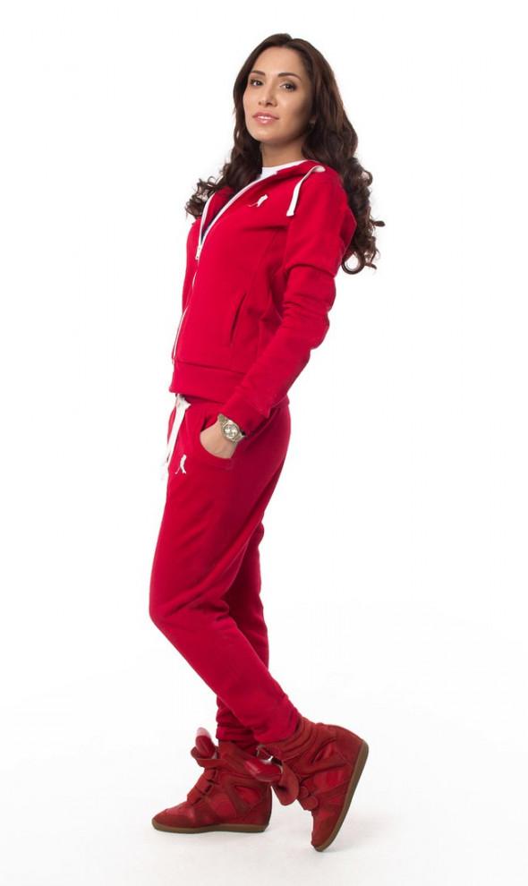 Женский спортивный костюм MarkWear Player Red