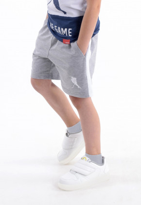 ШОРТЫ PLAYER GREY SPORT KIDS